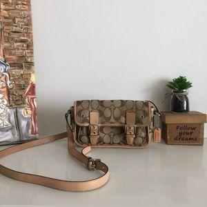 Coach Mini Signature Field Crossbody Bag